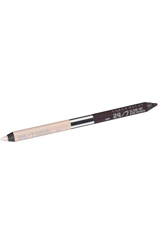 Двусторонний карандаш для глаз 24/7 Naked Basics Urban DecayКарандаши для глаз<br><br><br>Объем мл: 0<br>Пол: Женский<br>Возраст: Взрослый<br>Цвет: Бесцветный