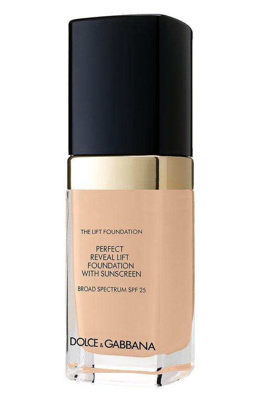 Тональный крем с эффектом лифтинга 130 Warm Rose Dolce &amp; GabbanaТональные средства<br><br><br>Объем мл: 30<br>Пол: Женский<br>Возраст: Взрослый<br>Цвет: Бесцветный