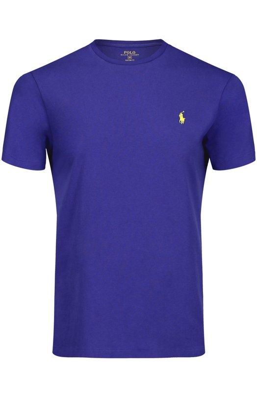Хлопковая футболка с круглым вырезом Polo Ralph Lauren A16/KAA11/C700Z
