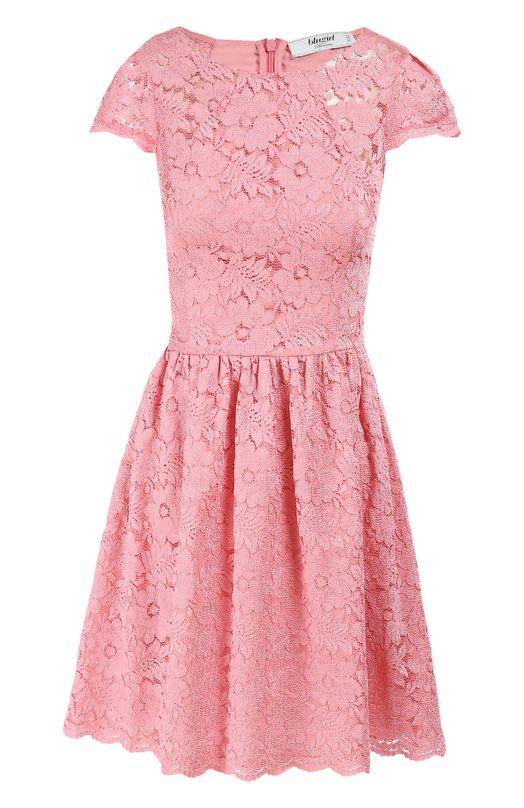 Платье BlugirlПлатья<br><br><br>Российский размер RU: 40<br>Пол: Женский<br>Возраст: Взрослый<br>Размер производителя vendor: 38<br>Материал: Полиамид: 100%; Подкладка-полиэстер: 100%;<br>Цвет: Розовый