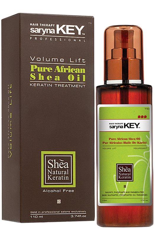 Натуральное Африканское масло Ши для тонких волос Volume Lift Saryna KeyМаски / Сыворотки<br><br><br>Объем мл: 110<br>Пол: Женский<br>Возраст: Взрослый<br>Цвет: Бесцветный