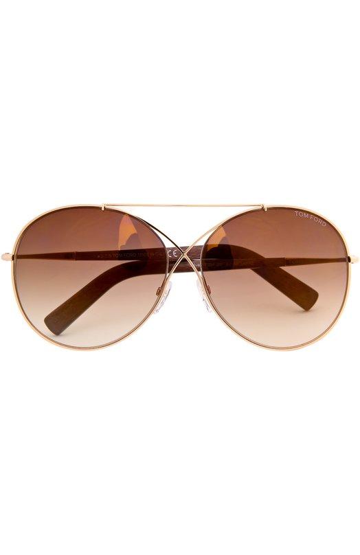 Солнцезащитные очки с футляром Tom Ford TF394