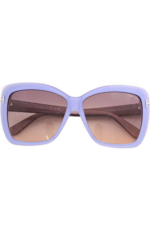 Солнцезащитные очки с футляром Tom Ford TF390