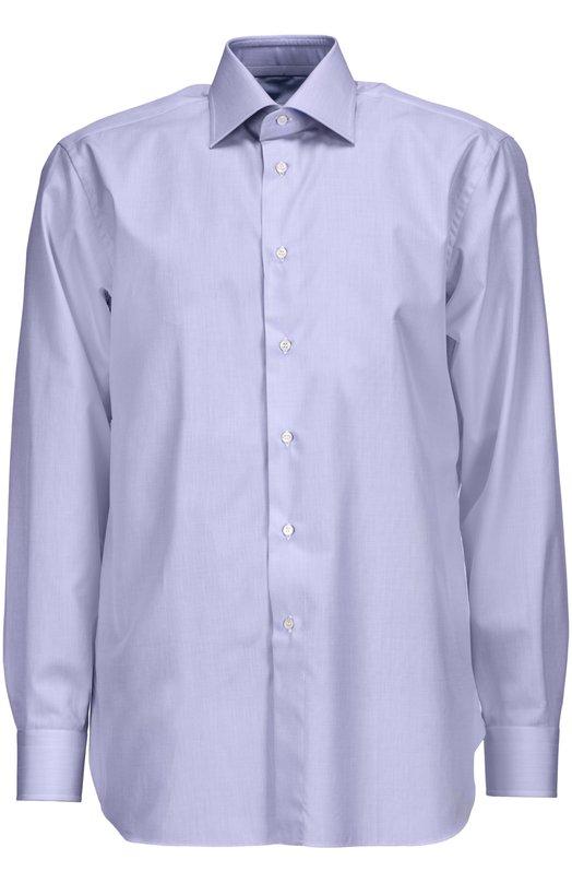 Купить Сорочка Brioni, RCL9/PZ014, Италия, Голубой, Хлопок: 100%;