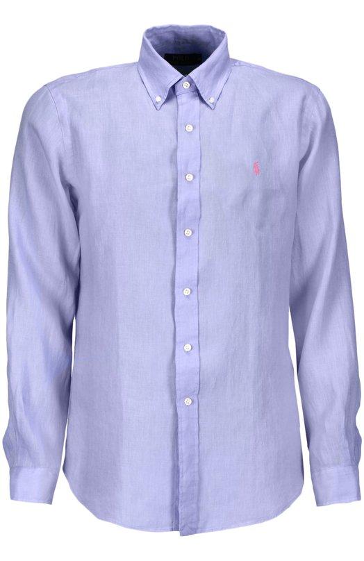 Сорочка Polo Ralph LaurenРубашки<br><br><br>Российский размер RU: 52<br>Пол: Мужской<br>Возраст: Взрослый<br>Размер производителя vendor: XL<br>Материал: Лен: 100%;<br>Цвет: Лавандовый