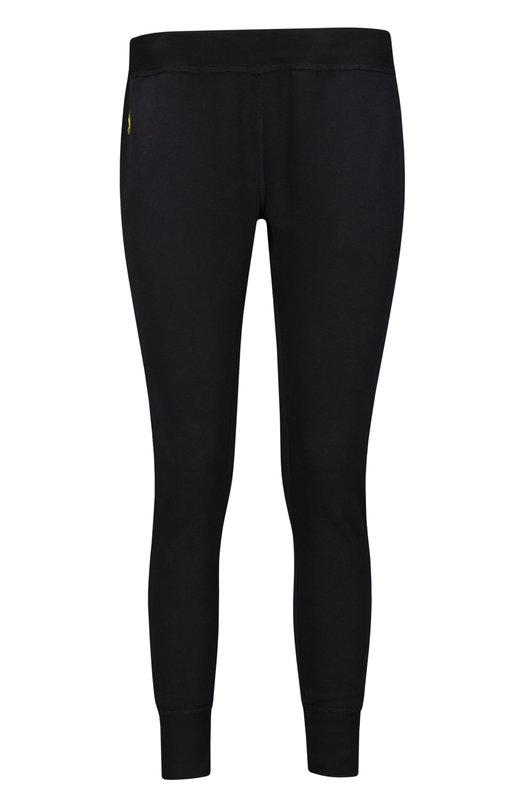 Вязаные брюки Polo Ralph LaurenБрюки<br><br><br>Российский размер RU: 52<br>Пол: Женский<br>Возраст: Взрослый<br>Размер производителя vendor: XL<br>Материал: Хлопок: 60%; Полиэстер: 40%;<br>Цвет: Черный