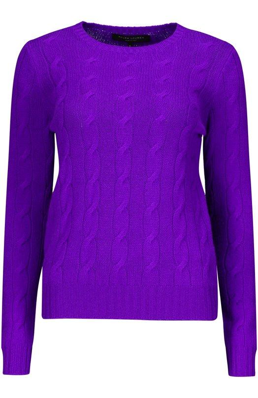 Пуловер Ralph LaurenСвитеры<br><br><br>Российский размер RU: 42<br>Пол: Женский<br>Возраст: Взрослый<br>Размер производителя vendor: S<br>Материал: Кашемир: 100%;<br>Цвет: Фиолетовый