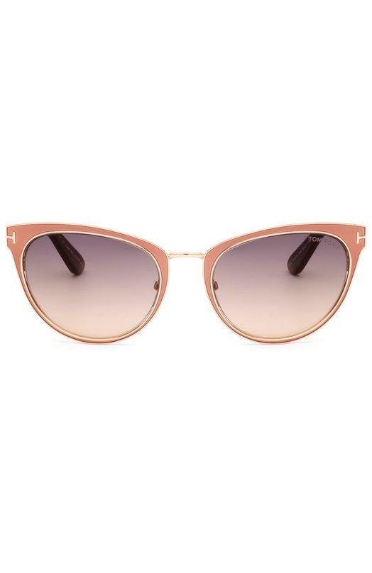 Солнцезащитные очки Tom FordОчки<br><br><br>Пол: Женский<br>Возраст: Взрослый<br>Размер производителя vendor: NS<br>Цвет: Розовый