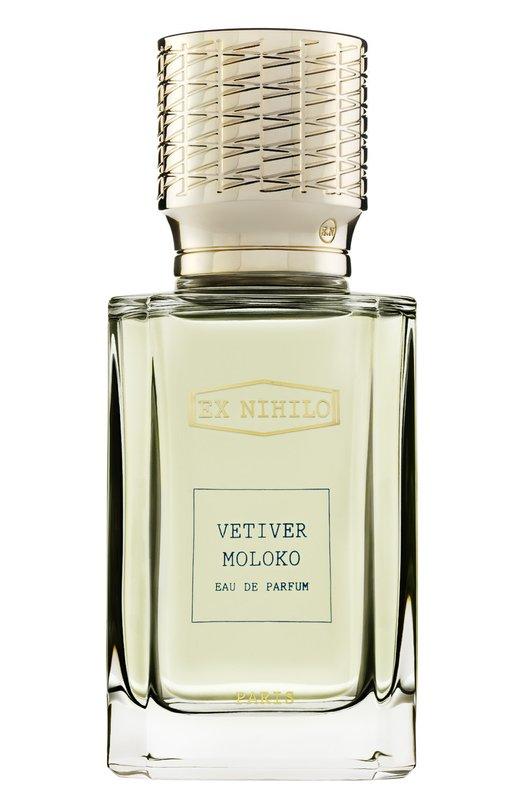 Мужская парфюмерная вода Vetiver Moloko Ex NihiloАроматы для мужчин<br><br><br>Объем мл: 100<br>Пол: Женский<br>Возраст: Взрослый<br>Цвет: Бесцветный