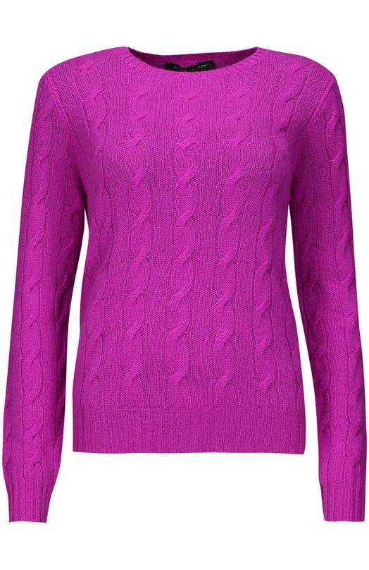 Пуловер Ralph LaurenСвитеры<br><br><br>Российский размер RU: 44<br>Пол: Женский<br>Возраст: Взрослый<br>Размер производителя vendor: M<br>Материал: Кашемир: 100%;<br>Цвет: Фиолетовый