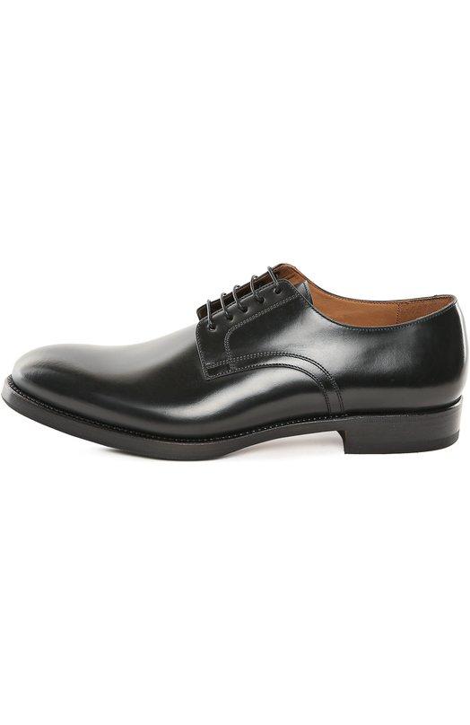 Туфли W.GibbsТуфли<br>Для изготовления дерби с зауженным мысом мастера марки использовали гладкую кожу черного цвета. Модель с открытым типом шнуровки, на широкой подошве дополнена невысоким квадратным каблуком. Обувь прошита нитью в тон.<br><br>Российский размер RU: 42<br>Пол: Мужской<br>Возраст: Взрослый<br>Размер производителя vendor: 42<br>Материал: Кожа натуральная: 100%; Стелька-кожа: 100%; Подошва-кожа: 100%; Подошва-резина: 100%;<br>Цвет: Черный