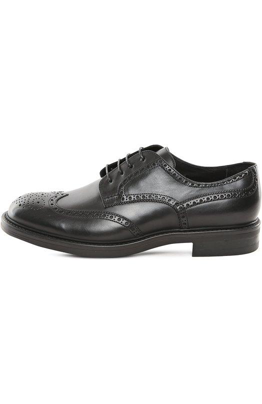Туфли W.GibbsТуфли<br>Дизайнеры марки дополнили полуброги с открытым типом шнуровки широкой подошвой и невысоким каблуком. Классические туфли с круглым мысом изготовлены мастерами бренда вручную из мелкозернистой кожи черного цвета.<br><br>Российский размер RU: 43<br>Пол: Мужской<br>Возраст: Взрослый<br>Размер производителя vendor: 43<br>Материал: Кожа натуральная: 100%; Стелька-кожа: 100%; Подошва-резина: 100%;<br>Цвет: Черный