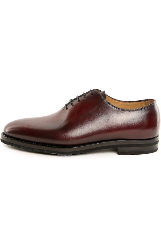 Купить Туфли с колодками Anto Kiton, USSCAR0/N101, Италия, Бордовый, Кожа натуральная: 100%; Стелька-кожа: 100%; Подошва-резина: 100%;