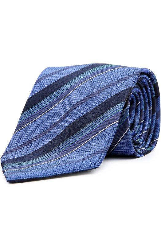 Купить Галстук Brioni, 063I/04489, Италия, Синий, Шелк: 100%;