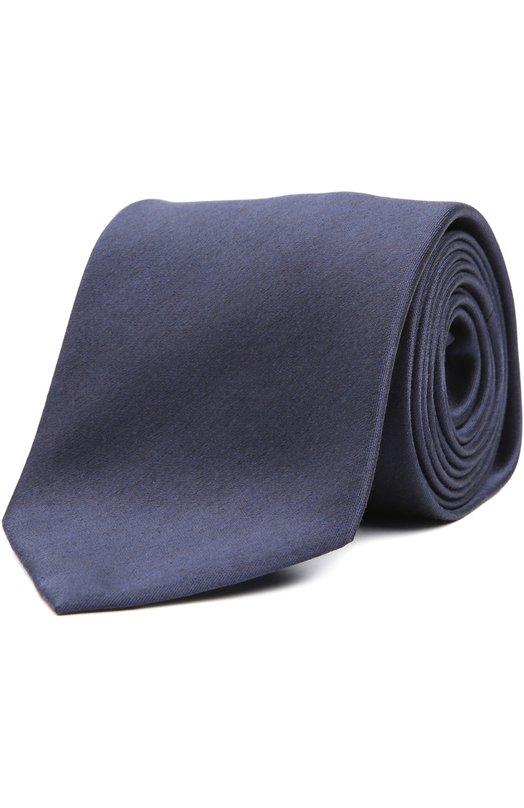 Галстук BrioniГалстуки<br><br><br>Пол: Мужской<br>Возраст: Взрослый<br>Размер производителя vendor: NS<br>Материал: Шелк: 100%;<br>Цвет: Темно-синий