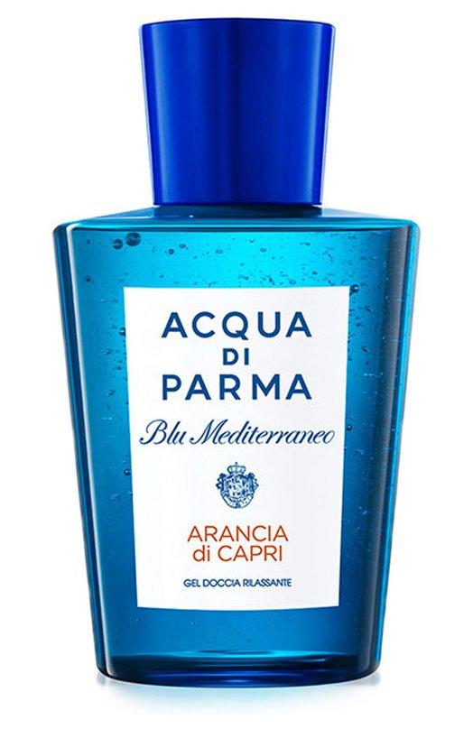 Гель для душа Blu Mediterraneo Arancia di Capri Acqua di ParmaСредства для душа и ванны<br><br><br>Объем мл: 200<br>Пол: Женский<br>Возраст: Взрослый<br>Цвет: Бесцветный