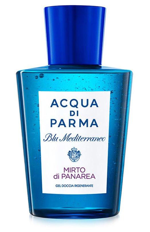 Гель для душа Blu Mediterraneo Mirto di Panarea Acqua di ParmaСредства для душа и ванны<br><br><br>Объем мл: 200<br>Пол: Женский<br>Возраст: Взрослый<br>Цвет: Бесцветный
