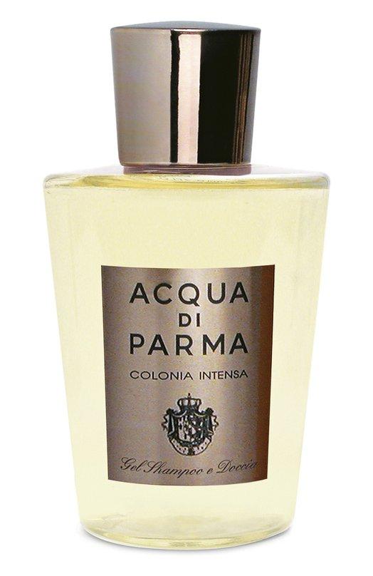 Гель для душа и мытья волос Colonia Intensa Acqua di ParmaСредства для душа и ванны<br><br><br>Объем мл: 200<br>Пол: Мужской<br>Возраст: Взрослый<br>Цвет: Бесцветный