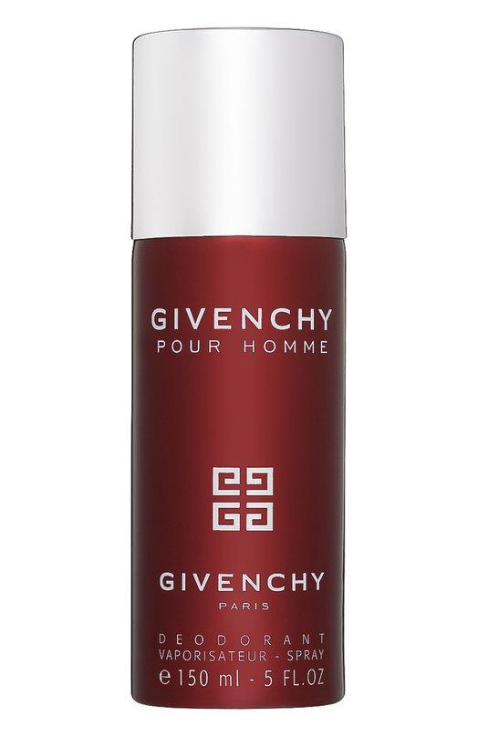 Парфюмированный дезодорант-спрей Givenchy Pour Homme GivenchyДезодоранты<br><br><br>Объем мл: 150<br>Пол: Мужской<br>Возраст: Взрослый<br>Цвет: Бесцветный