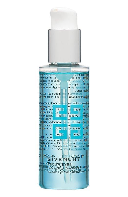 Средство для снятия макияжа с глаз Secur Eyes GivenchyОчищение / Эксфолиация<br><br><br>Объем мл: 125<br>Пол: Женский<br>Возраст: Взрослый<br>Цвет: Бесцветный