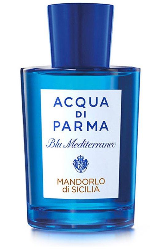Туалетная вода Blu Mediterraneo Mandorlo Di Sicilia Acqua di ParmaАроматы для женщин<br><br><br>Объем мл: 150<br>Пол: Женский<br>Возраст: Взрослый<br>Цвет: Бесцветный