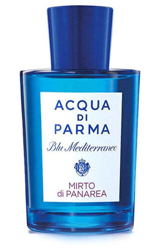 Туалетная вода Blu Mediterraneo Mirto Di Panarea Acqua di ParmaАроматы для женщин<br><br><br>Объем мл: 150<br>Пол: Женский<br>Возраст: Взрослый<br>Цвет: Бесцветный