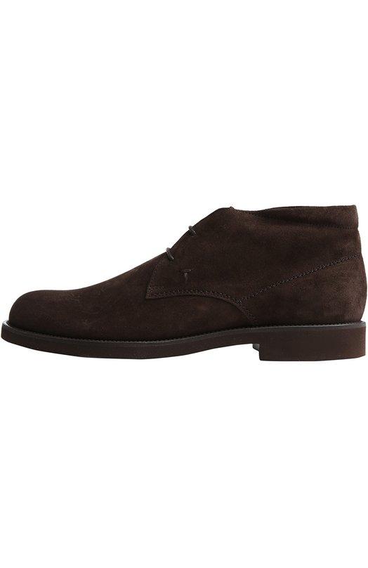 Замшевые ботинки Gomma Tod's
