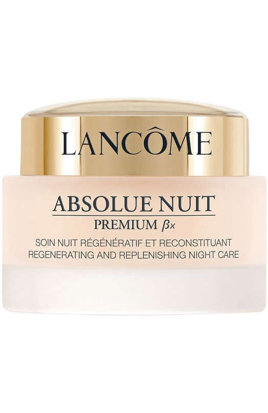 Купить Ночной крем для лица Absolue Premium BX Regenerating And Replenishing Night Cream Lancome, 3605532973623, Франция, Бесцветный