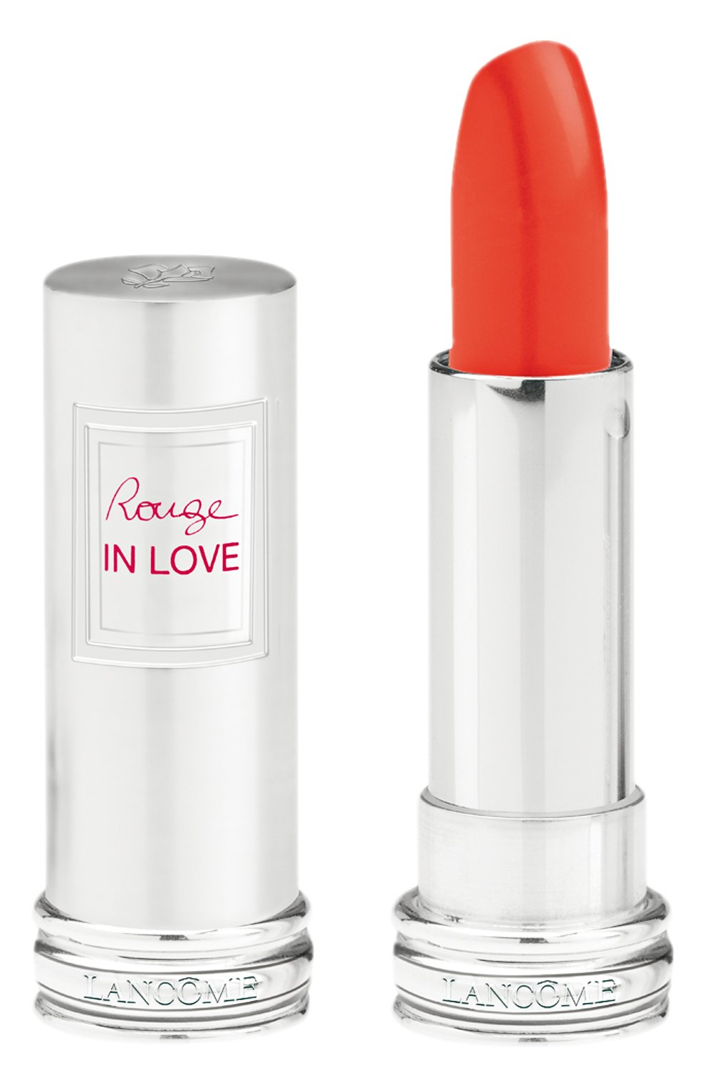 Помада для губ Rouge In Love 146B Miss Coquelicot  Lancome | Фото №1