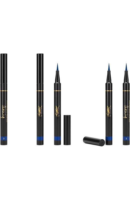 Подводка для глаз Eyeliner Effet Faux Cils Shocking 3 Deep Blue YSLПодводки для глаз<br><br><br>Объем мл: 0<br>Пол: Женский<br>Возраст: Взрослый<br>Цвет: Бесцветный