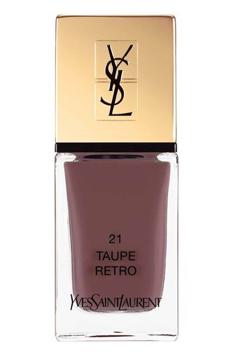 Лак для ногтей La Laque Couture 21 Taupe Retro YSL #color# | Фото №1
