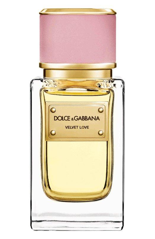 Купить Парфюмерная вода Velvet Collection Love Dolce & Gabbana, 737052497136, Великобритания, Бесцветный