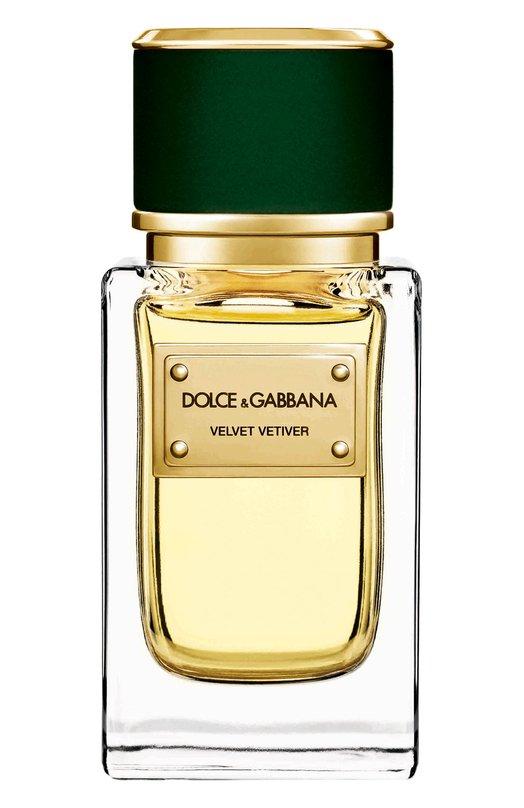 Купить Парфюмерная вода Velvet Collection Vetiver Dolce & Gabbana, 737052497198, Великобритания, Бесцветный