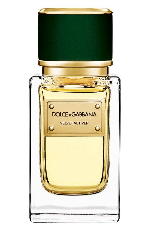 Парфюмерная вода Velvet Collection Vetiver Dolce &amp; GabbanaАроматы для женщин<br><br><br>Объем мл: 150<br>Пол: Женский<br>Возраст: Взрослый<br>Цвет: Бесцветный