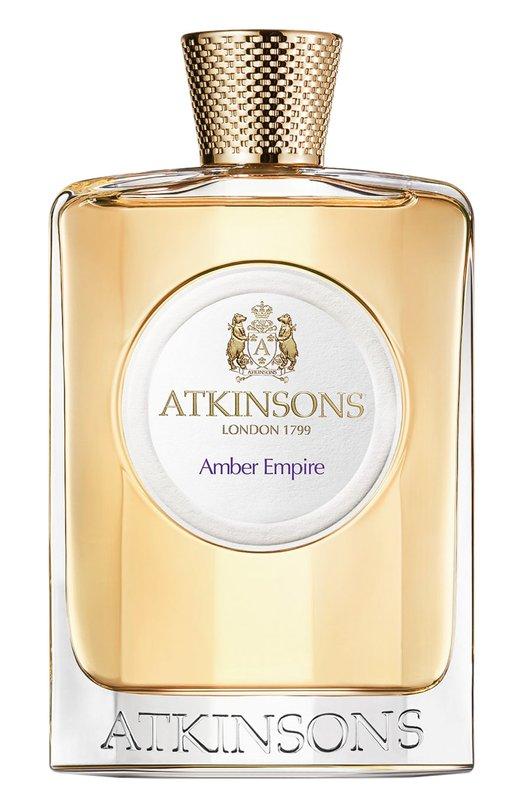 Туалетная вода Amber Empire AtkinsonsАроматы для женщин<br><br><br>Объем мл: 100<br>Пол: Женский<br>Возраст: Взрослый<br>Цвет: Бесцветный
