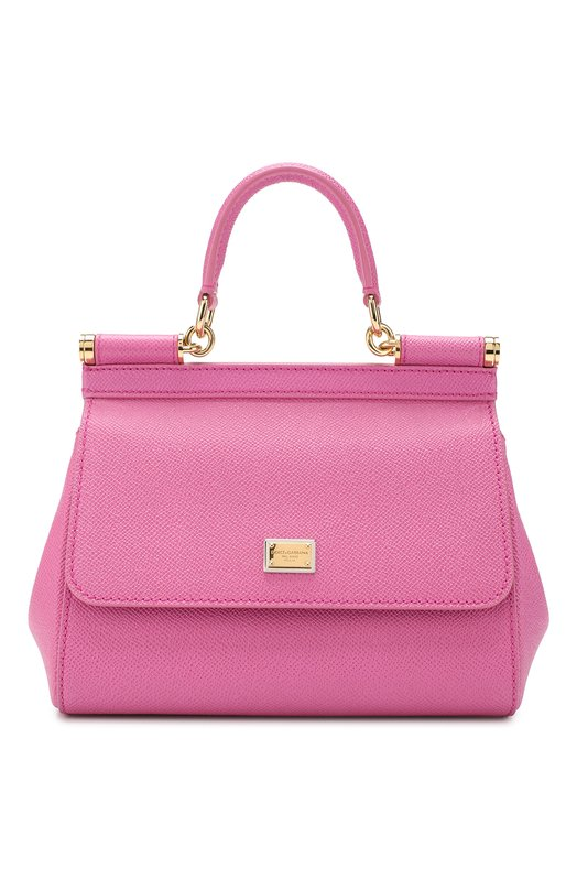 Купить Сумка Sicily small Dolce & Gabbana, 0116/BB6003/A1001, Италия, Розовый, Кожа натуральная: 100%;