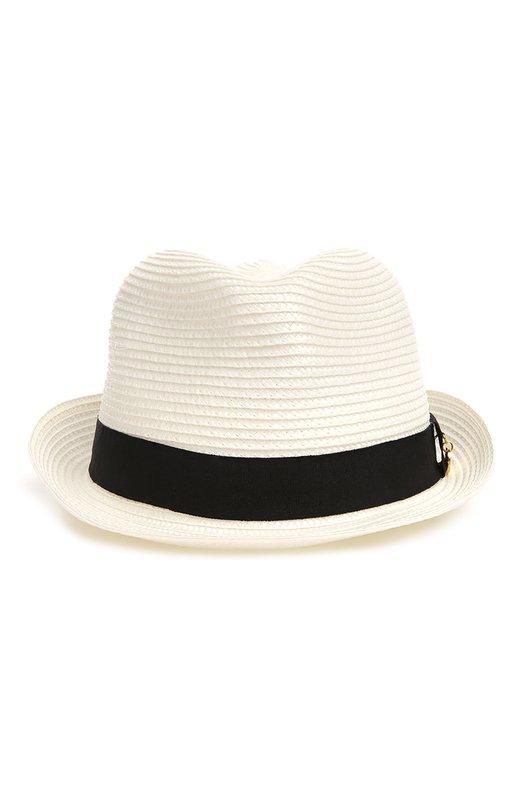 Шляпа Melissa OdabashГоловные уборы<br><br><br>Пол: Женский<br>Возраст: Взрослый<br>Размер производителя vendor: NS<br>Материал: Полипропилен: 95%; Полиэстер: 5%;<br>Цвет: Белый