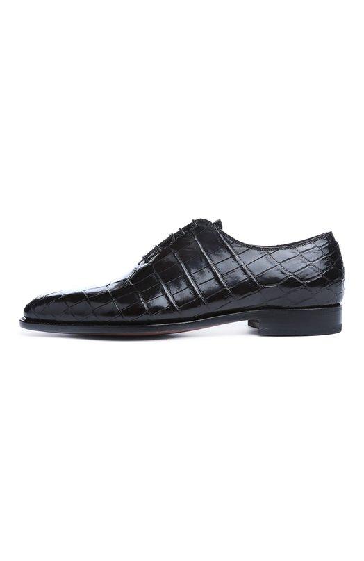 Туфли из крокодиловой кожи Kiton USSCAR0/N118
