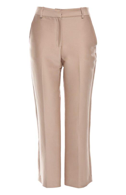 Брюки Zac PosenБрюки<br>Светло-розовые текстильные брюки вошли в осенне-зимнюю коллекцию бренда, основанного Заком Позеном. Укороченная модель на молнии дополнена задними прорезными карманами на пуговицах. Нам нравится сочетать с тонкой полупрозрачной блузой и декорированными сабо.<br><br>Российский размер RU: 44<br>Пол: Женский<br>Возраст: Взрослый<br>Размер производителя vendor: 6<br>Материал: Хлопок: 87%; Шелк: 13%;<br>Цвет: Светло-розовый