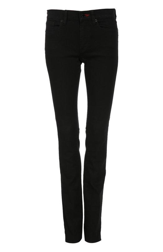 Джинсы Ralph LaurenДжинсы<br>Ральф Лорен включил в коллекцию сезона осень-зима 2015 года черные джинсы skinny с заниженной линией талии. Модель сшита из эластичного хлопка. Пуговичная петля на поясе обработана контрастной красной нитью. Попробуйте сочетать с ярким джемпером, тренчем и ботильонами на низком каблуке.<br><br>Российский размер RU: 42<br>Пол: Женский<br>Возраст: Взрослый<br>Размер производителя vendor: 26<br>Материал: Хлопок: 98%; Эластан: 2%;<br>Цвет: Черный