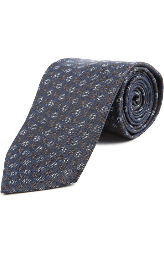 Купить Галстук Brioni, 063I/044BG, Италия, Синий, Шелк: 100%;