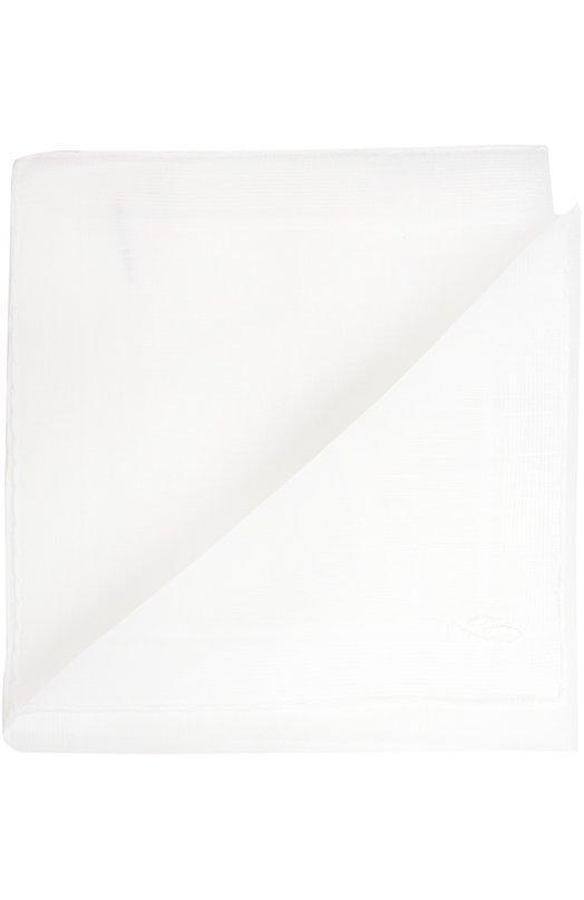 Платок BrioniГалстуки<br><br><br>Пол: Мужской<br>Возраст: Взрослый<br>Размер производителя vendor: NS<br>Материал: Хлопок: 75%; Лен: 25%;<br>Цвет: Белый