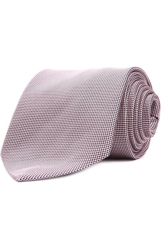 Галстук Ermenegildo ZegnaГалстуки<br>Мастера марки сшили галстук из светло-розового текстурированного шелка с контрастным микроузором. Аксессуар ручной работы вошел в коллекцию сезона осень-зима 2016 года. Наши стилисты рекомендуют сочетать с белой рубашкой и темным костюмом.<br><br>Пол: Мужской<br>Возраст: Взрослый<br>Размер производителя vendor: NS<br>Материал: Шелк: 100%;<br>Цвет: Светло-розовый