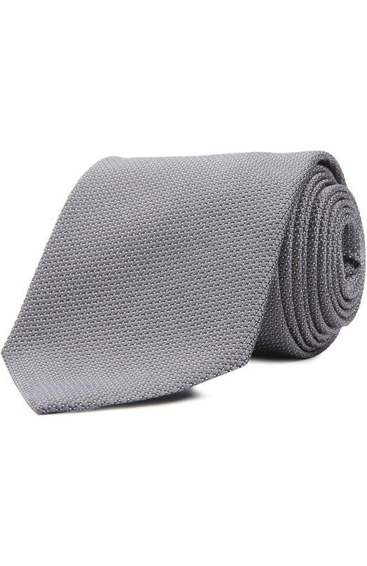 Галстук Ermenegildo ZegnaГалстуки<br>При создании галстука из осенне-зимней коллекции 2016 был использован структурированный мягкий шелк с микроузором. Светло-серый аксессуар выполнен мастерами марки вручную. Советуем носить с белой рубашкой и однотонным костюмом.<br><br>Пол: Мужской<br>Возраст: Взрослый<br>Размер производителя vendor: NS<br>Материал: Шелк: 100%;<br>Цвет: Светло-серый