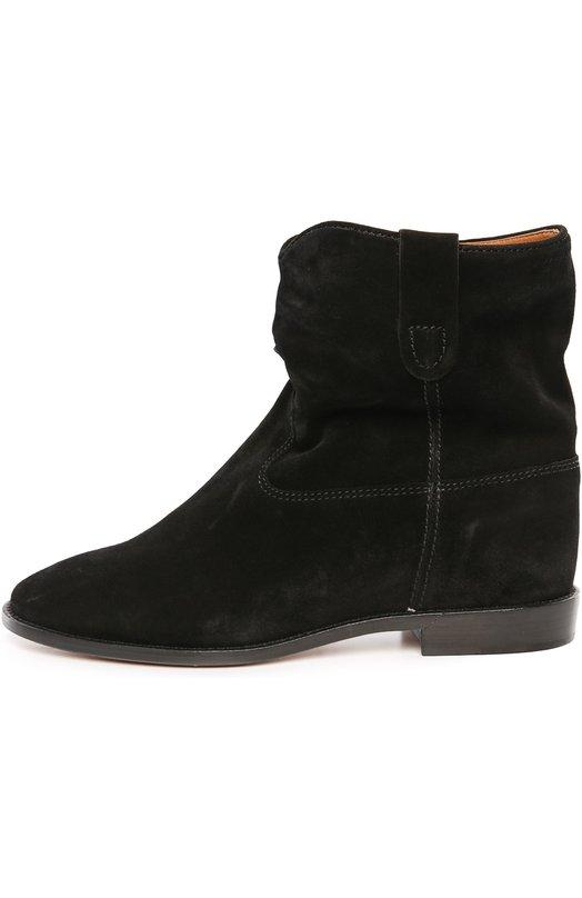Замшевые ботинки с широким голенищем Isabel Marant Etoile B00025-00M003S