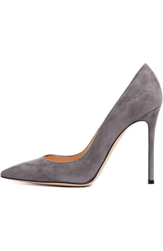 Купить Замшевые туфли Gianvito 105 на шпильке Rossi Италия 4309257 G28470/SUEDE/CAM0SCI0