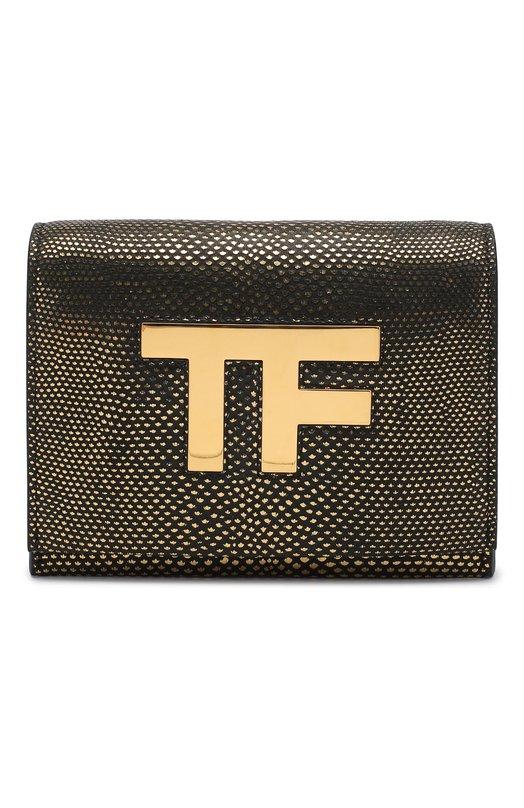 Сумка Icon на цепочке Tom FordКлатчи и вечерние сумки<br><br><br>Пол: Женский<br>Возраст: Взрослый<br>Размер производителя vendor: NS<br>Материал: Кожа натуральная: 100%;<br>Цвет: Золотой