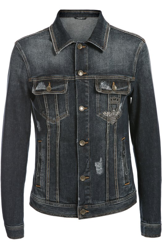 Джинсовая куртка Dolce & Gabbana 0101/G9EY3Z/G8Q97
