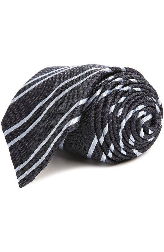 Купить Галстук Brioni, 063I/044AM, Италия, Темно-синий, Шелк: 100%;