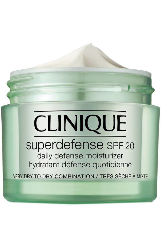 Дневной защитный увлажняющий крем для сухой и комбинированной кожи, склонной к сухости Clinique 7KE6-01